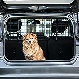 Heldenwerk® Universal Kofferraum Trenngitter für Hunde - Auto Hundegitter zum Transport für...