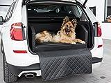 CopcoPet Travel Bed 90x70cm / Hunde-Reisebett aus Kunstleder/Hunde-Autobett/Wasserabweisende...