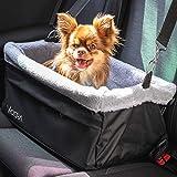 Vicera Hunde Autositz für Beifahrersitz & Rückbank, Hundesitz Auto für kleine Hunde & Katzen,...